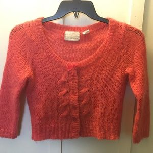Guinevere Anthropologie XS Knitted Mohair Sweater